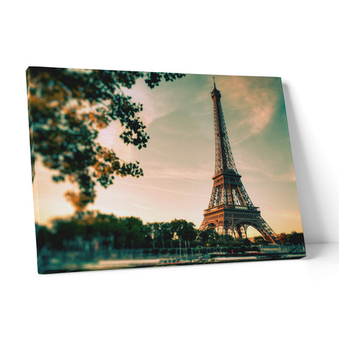 "Quadro in Tela Canvas ""Paris Tour Eiffel"" - LaMAGLIERIA"