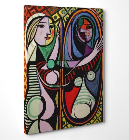 "Quadro in Tela Canvas ""Picasso Girl Before A Mirror"" - LaMAGLIERIA"