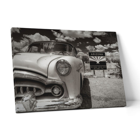 "Quadro in Tela Canvas ""Route66 Arizona"" - LaMAGLIERIA"