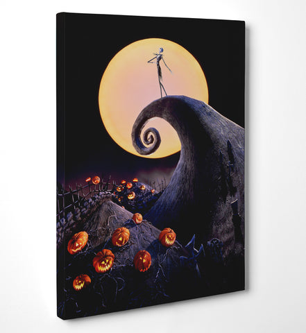 "Quadro in Tela Canvas ""The Nightmare Before Christmas"" - LaMAGLIERIA"