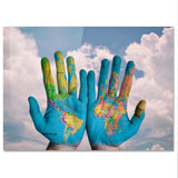 "Poster in Carta Fotografica ""World In Your Hands"" - LaMAGLIERIA"