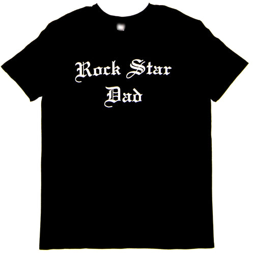 Rock Star Dad™ Unisex Tee