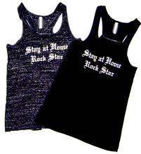 Stay at Home Rock Star™ Racer Back Tank Top