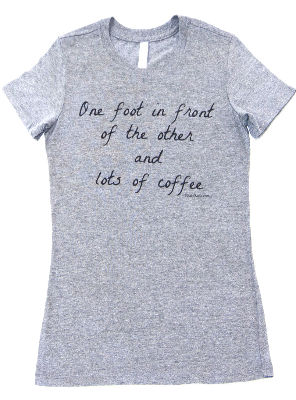 One Foot and Lots of Coffee tee