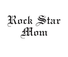 Rock Star Mom™ Girly Tee - Black or Grey