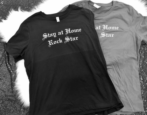 Sample - Stay at Home Rock Star™ Relaxed Ladies t-shirts