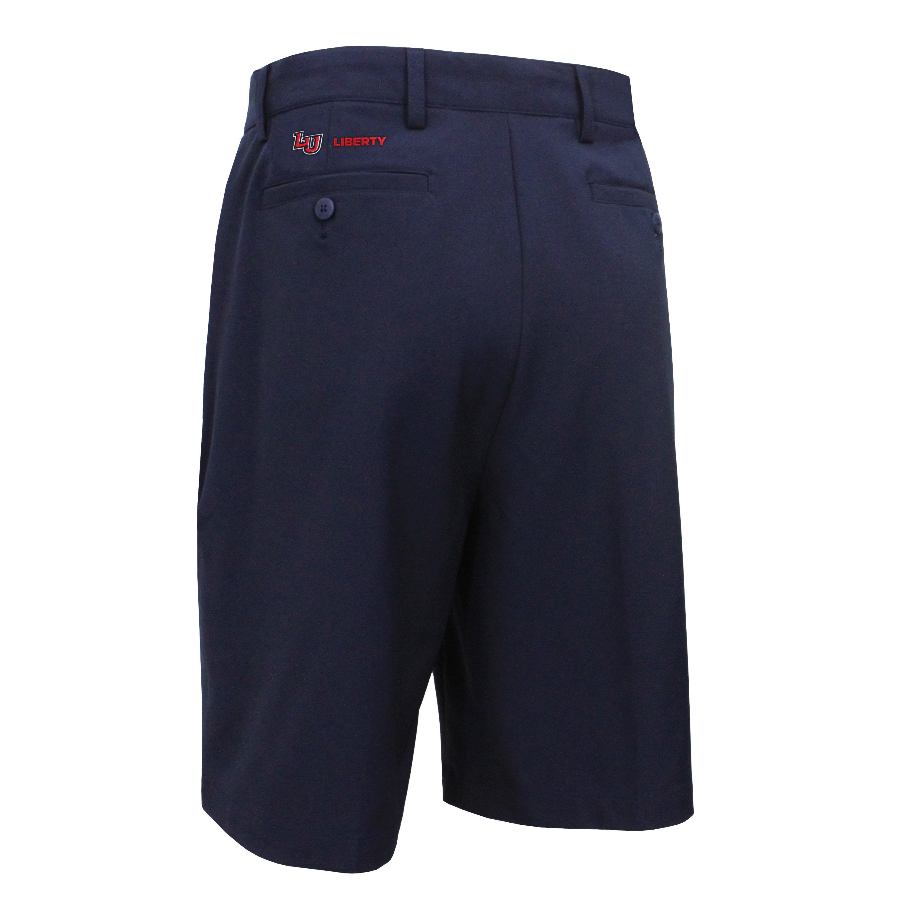 FootJoy Liberty Flat Front Shorts With Back Embroidered Logo