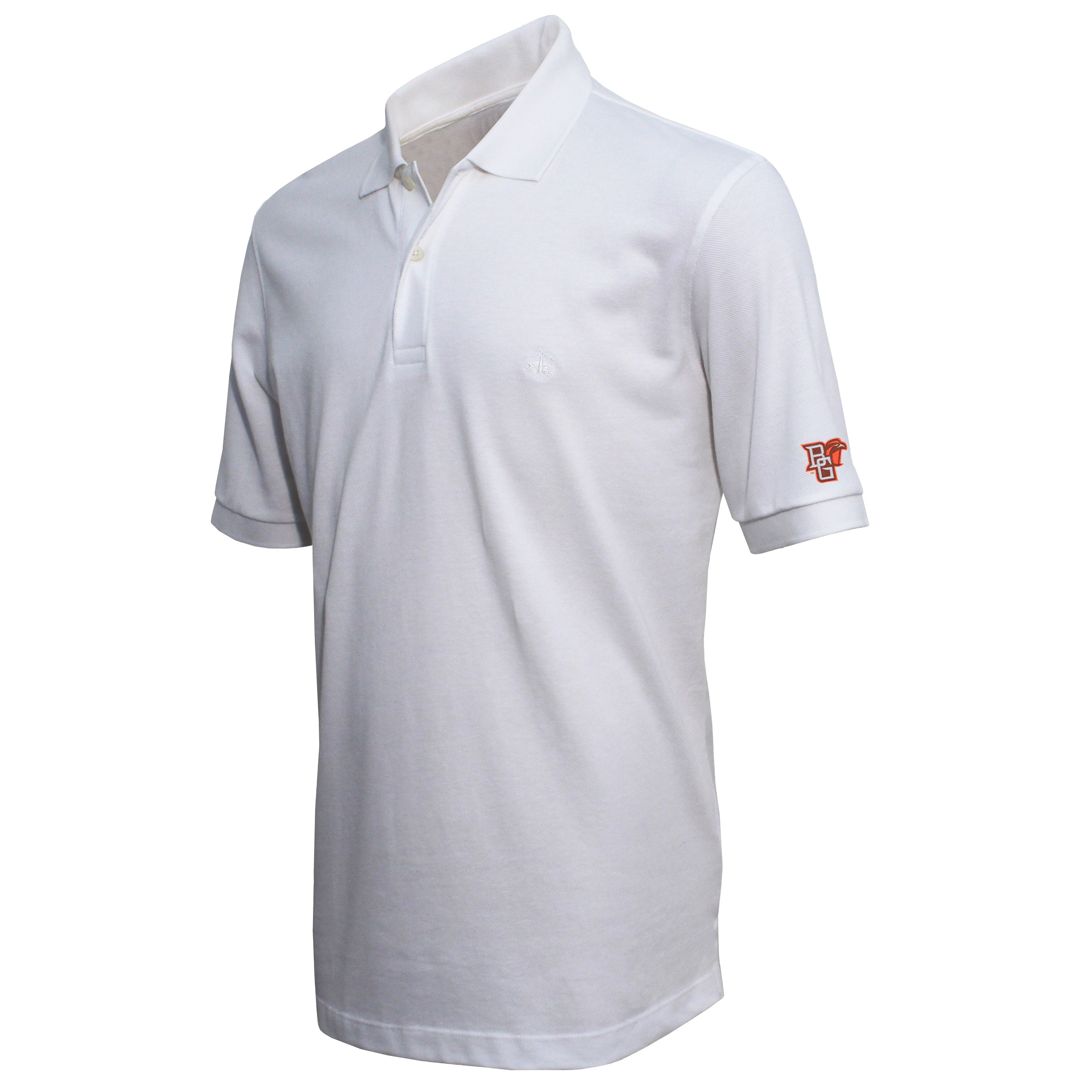 Brooks Brothers Bowling Green Men's White Slim Fit Pique Polo Shirt