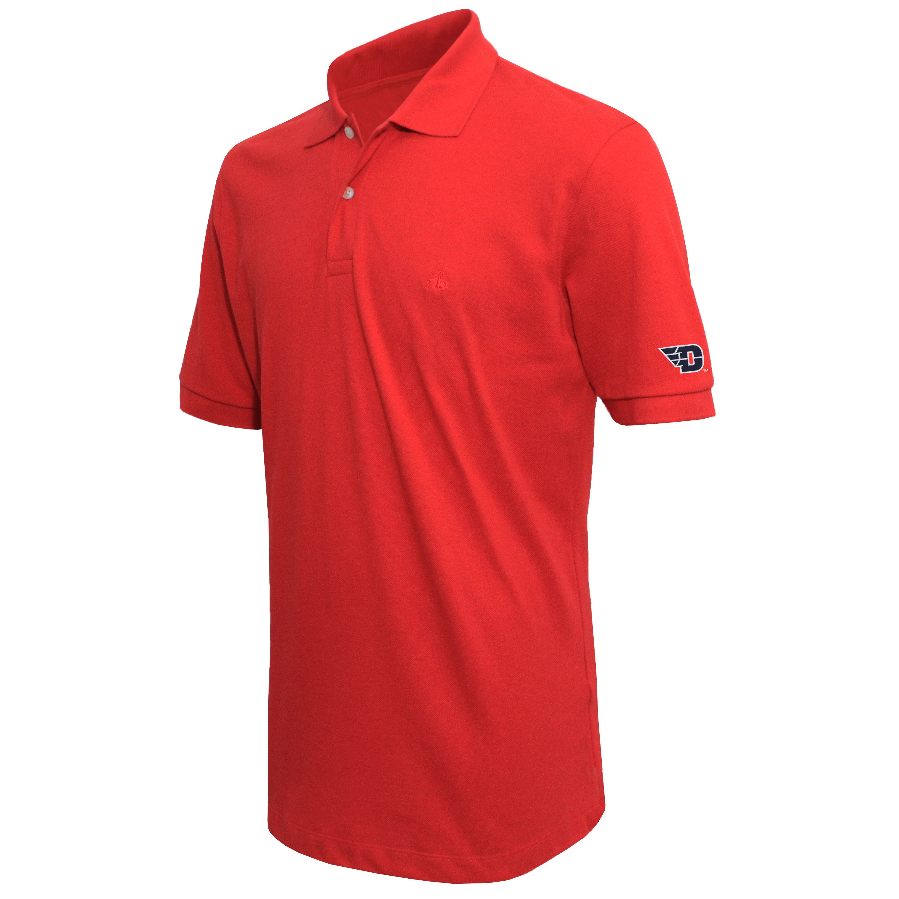 Brooks Brothers Dayton Men's Red Slim Fit Pique Polo Shirt