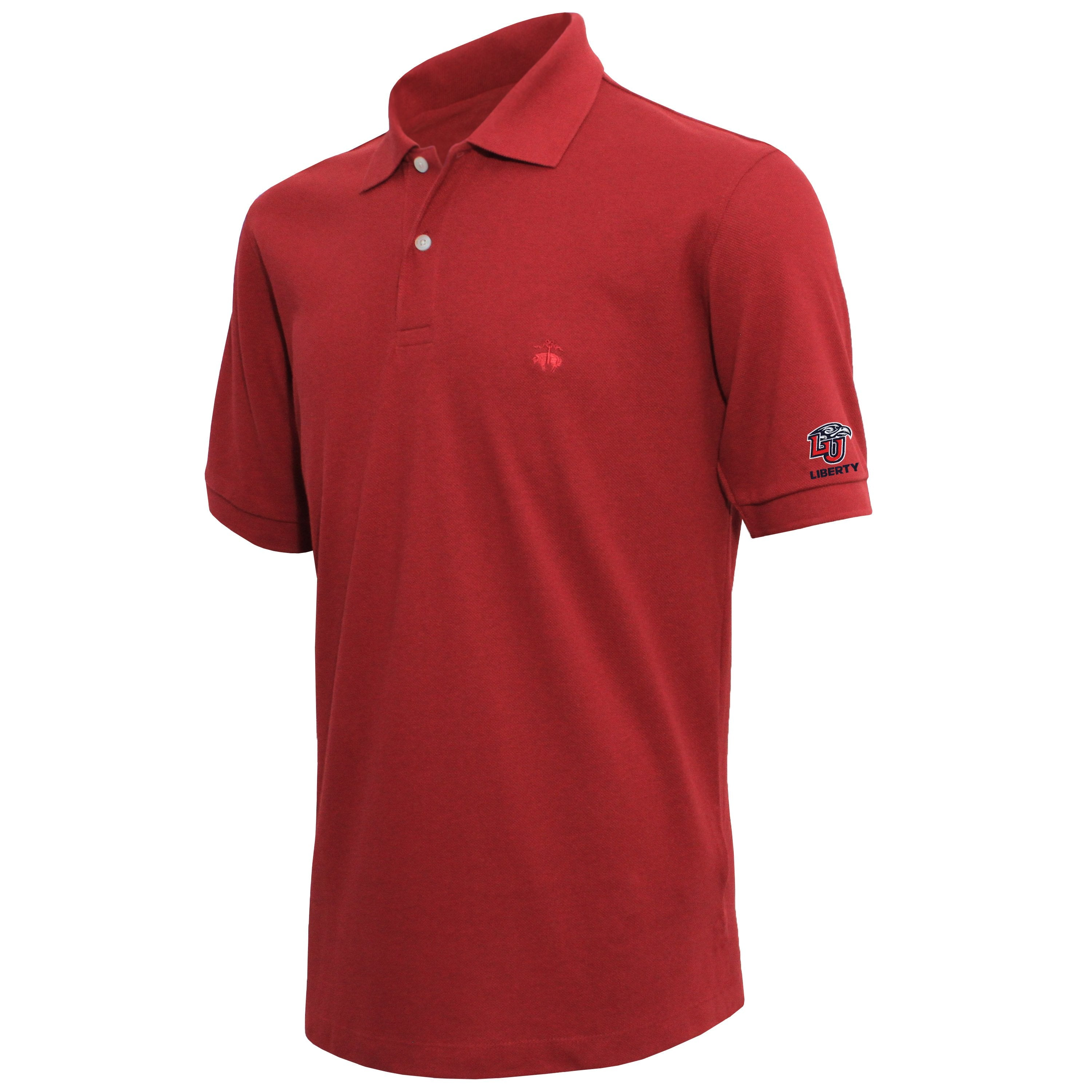 Brooks Brothers Liberty Men's Cardinal Slim Fit Pique Polo Shirt