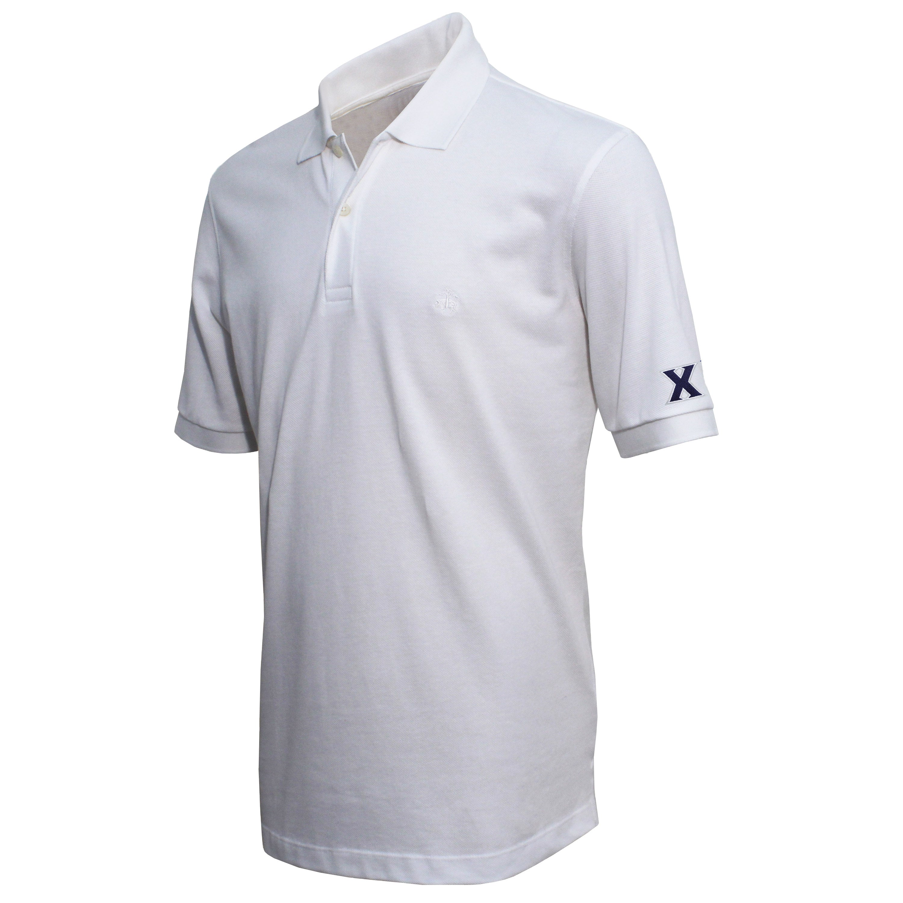 Brooks Brothers Xavier Men's White Slim Fit Pique Polo Shirt