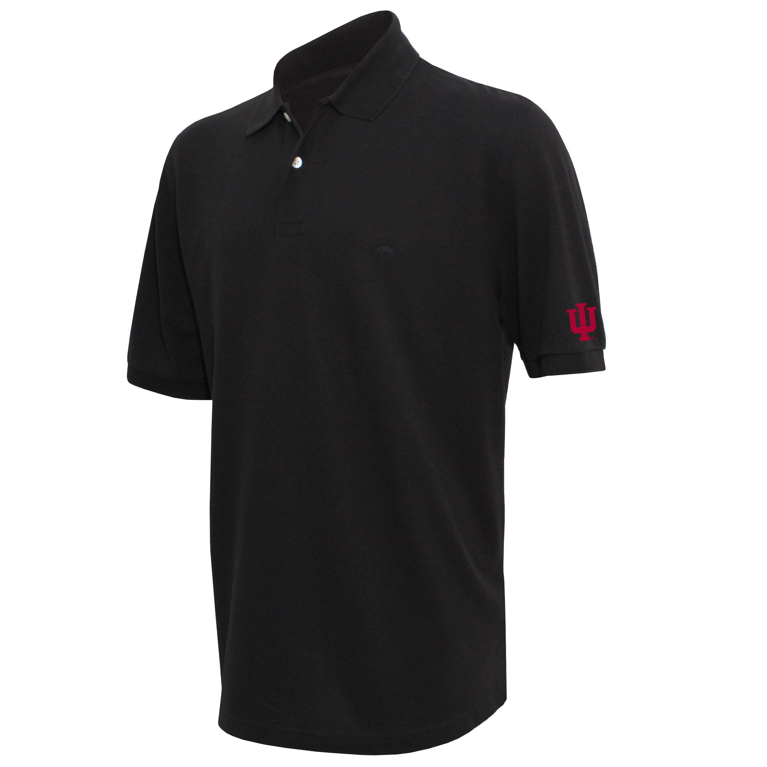 Brooks Brothers Indiana Men's Black Original Fit Pique Polo Shirt