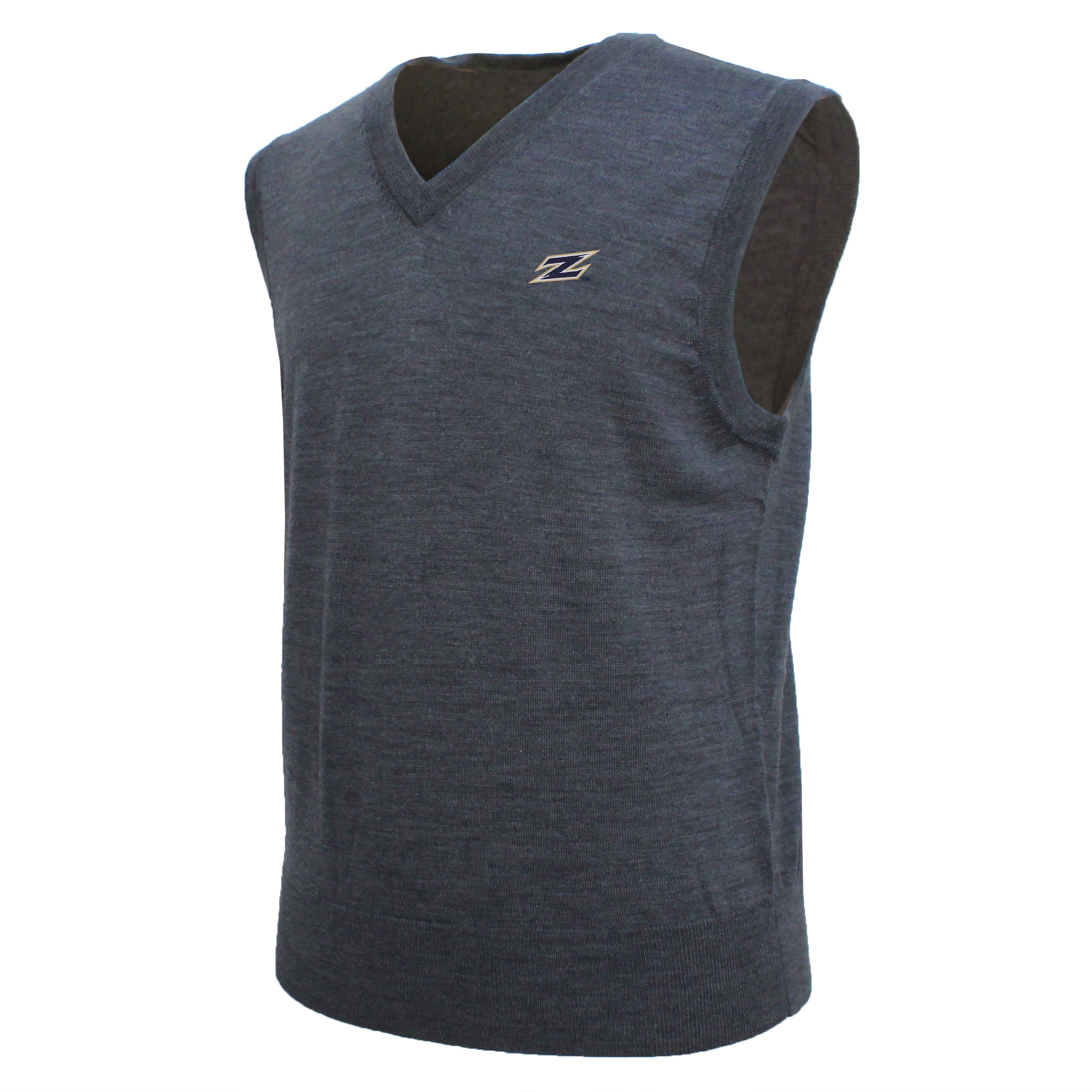 Brooks Brothers Akron Men's Gray V-Neck Sweater Vest