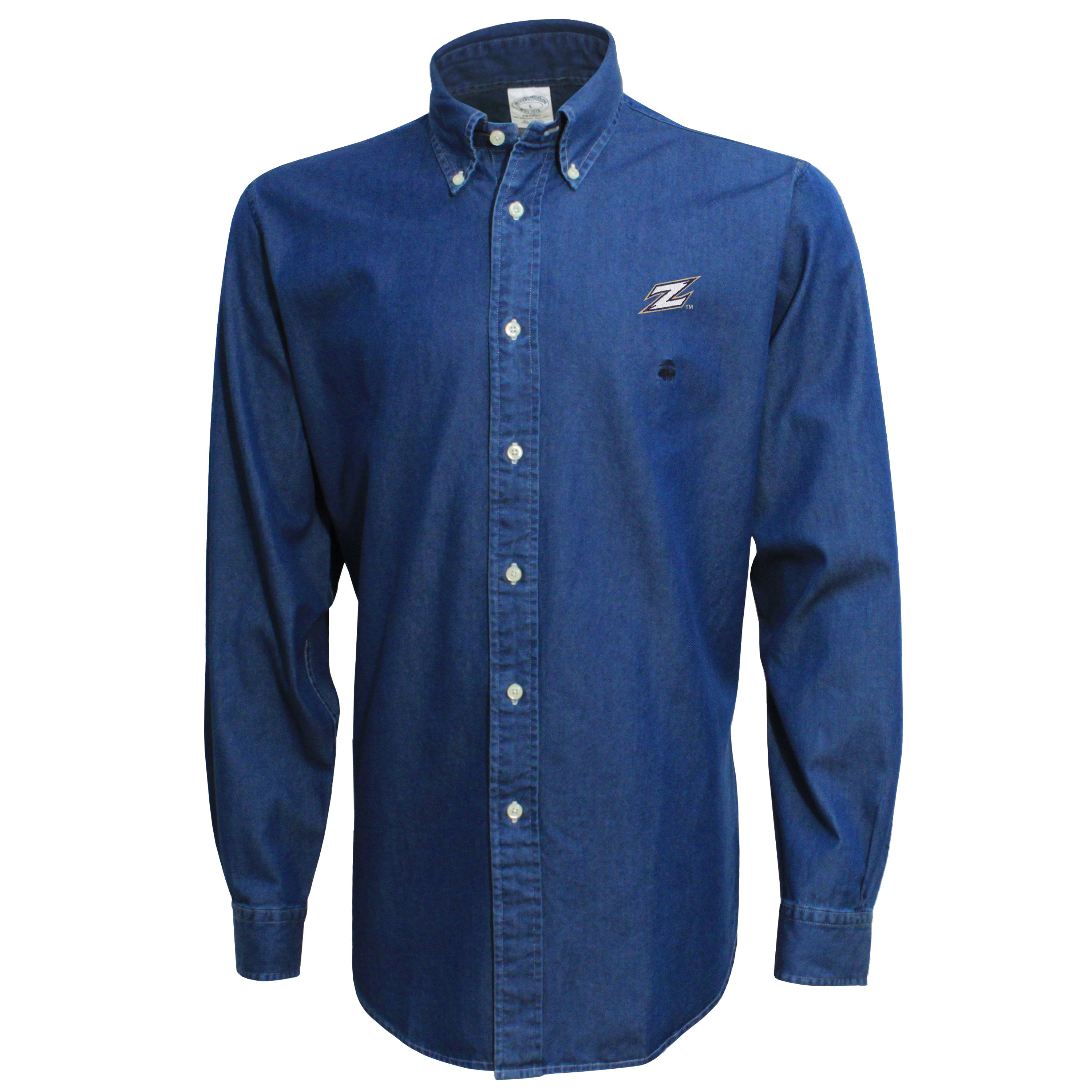 Brooks Brothers Akron Men's Chambray Button Down Shirt