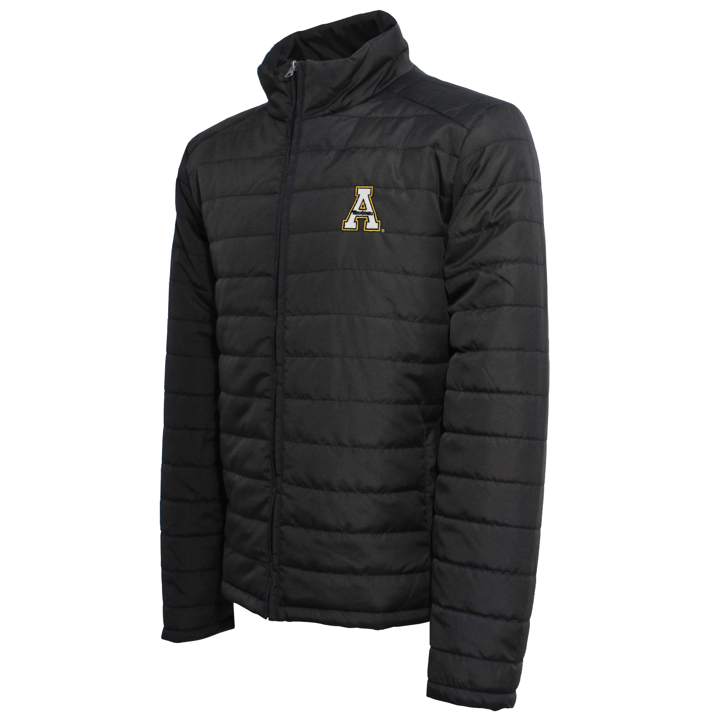 Crable Appalachian State Men's Black Puffer Jacket
