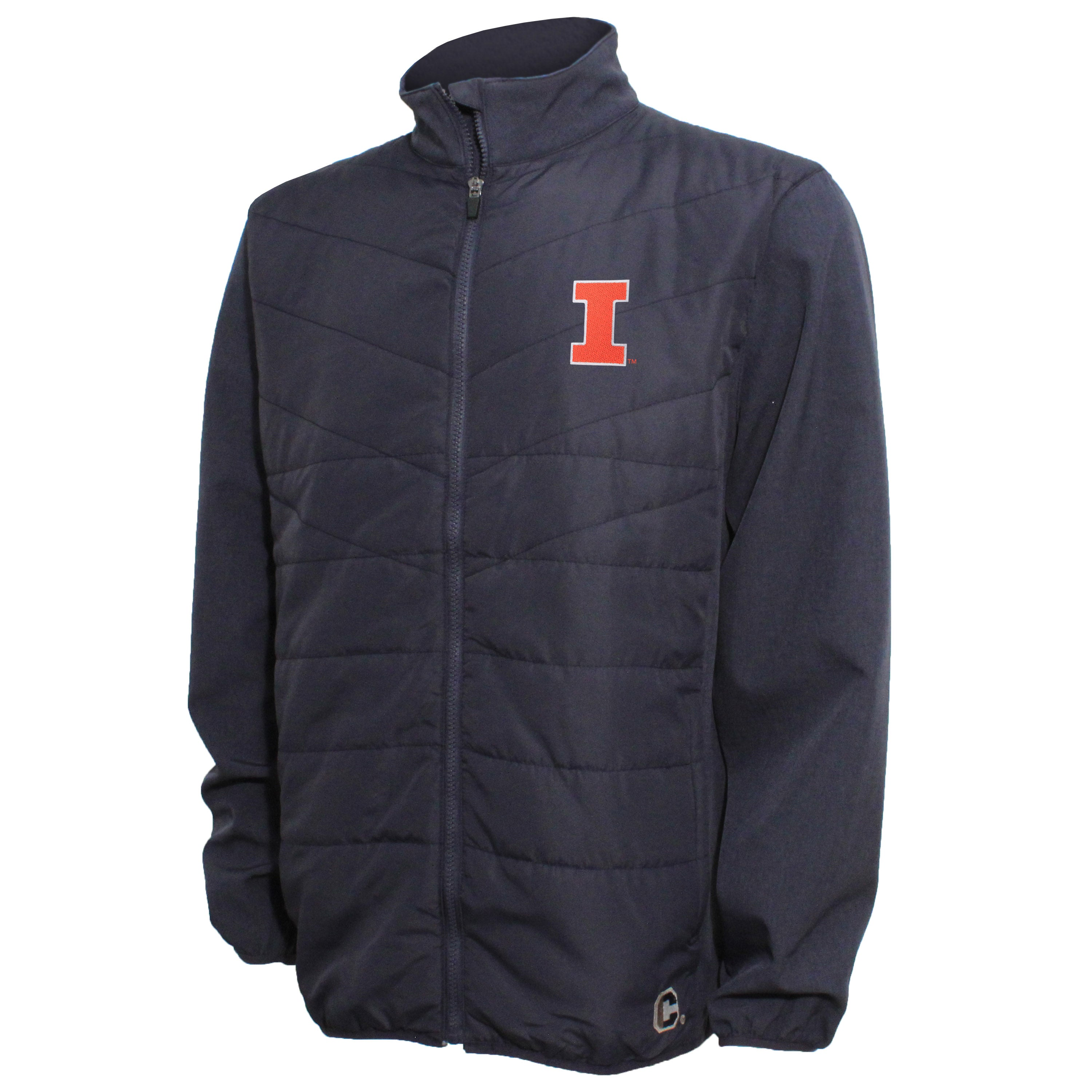 Crable Illinois Men's Navy Quilted Panel Jacket