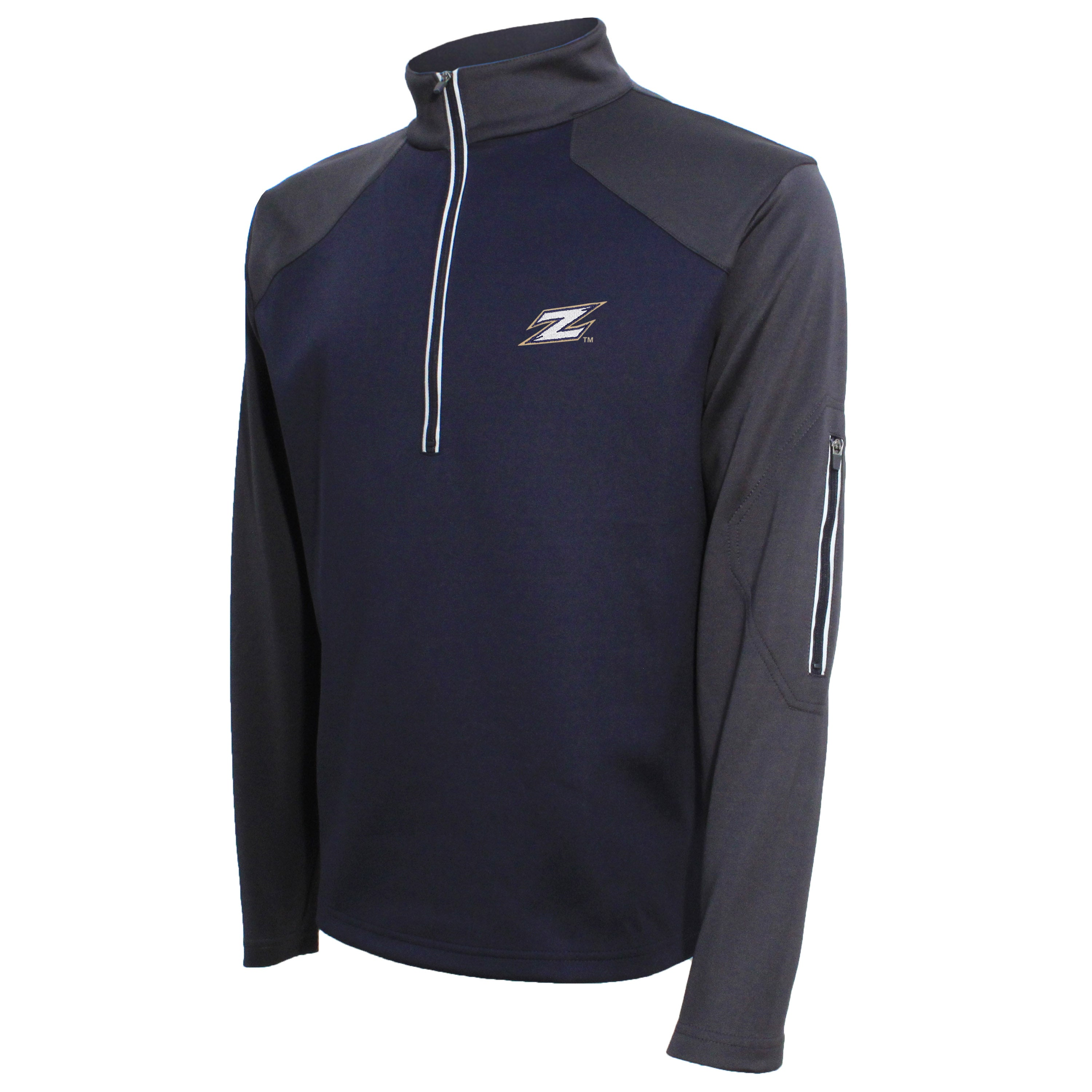 Crable Akron Men's Navy Quarter Zip Pullover