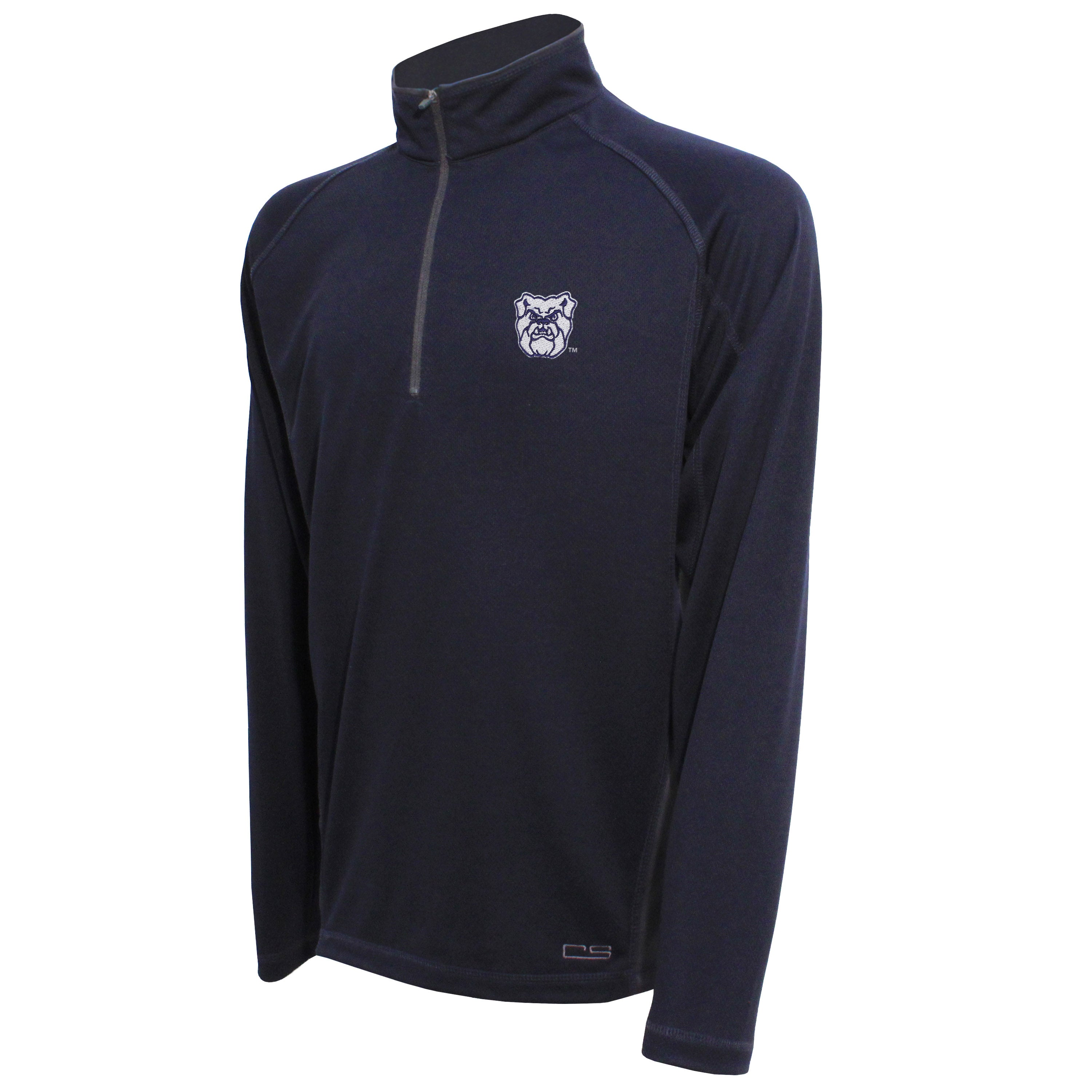 Crable Butler Men's Navy Quarter Zip Pullover