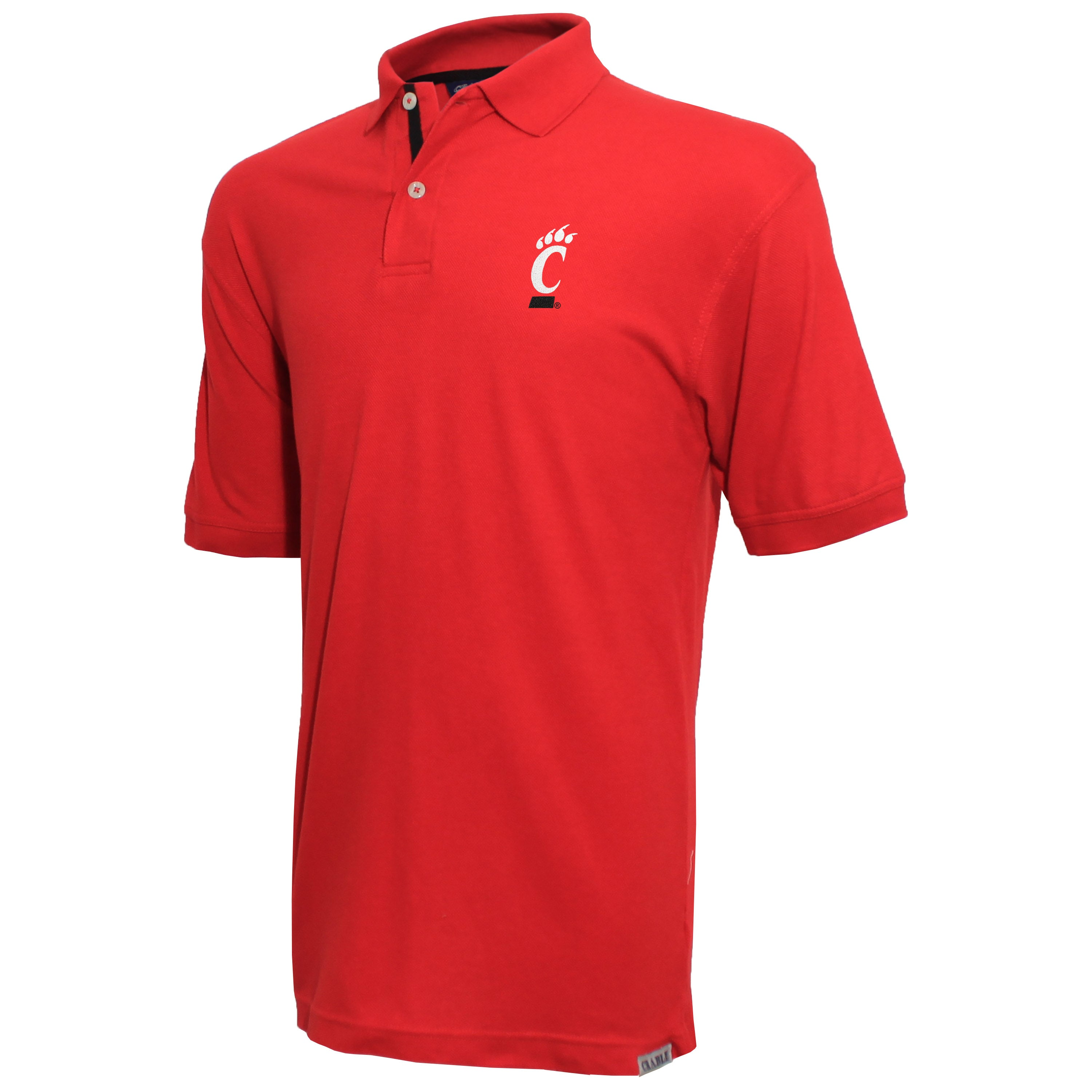 Crable Cincinnati Men's Red Pique Polo Shirt