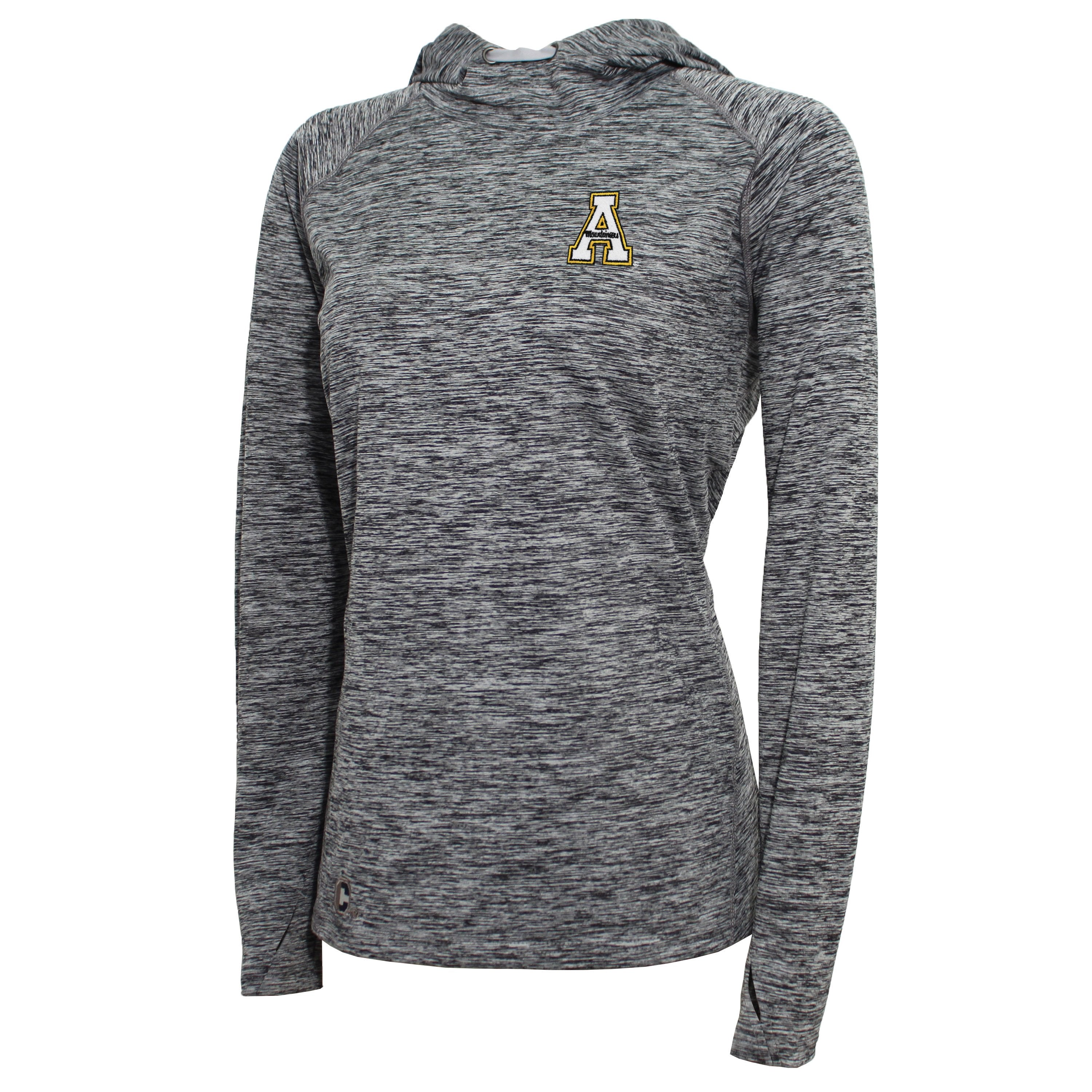 Crable Appalachian State Women's Black Pullover Hoodie