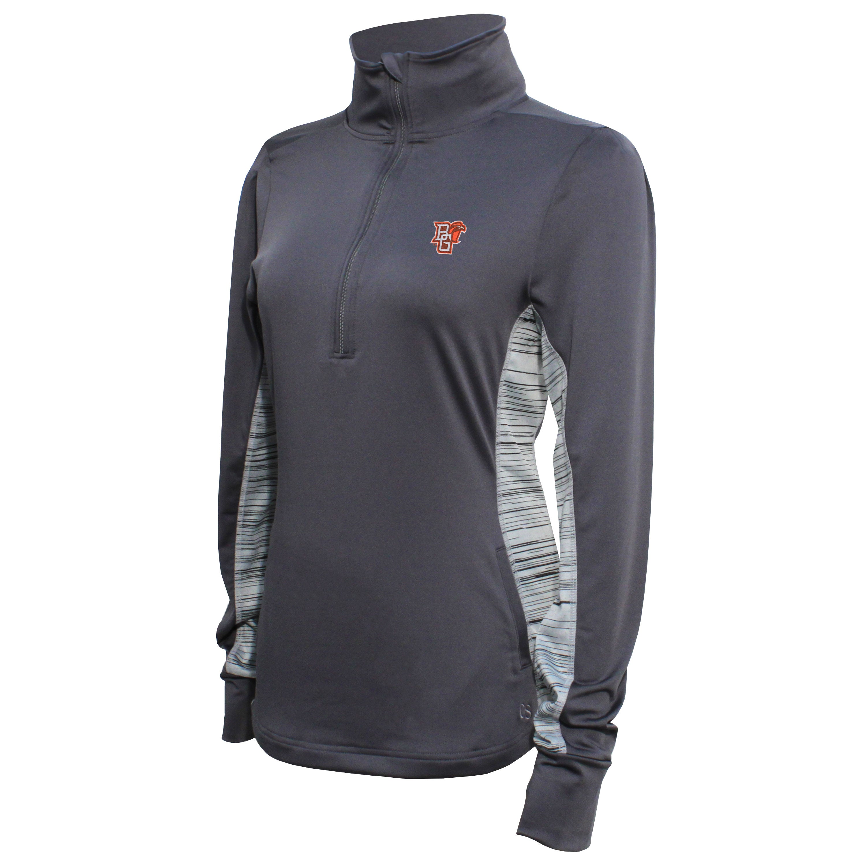Crable Bowling Green Women's Carbon Half Zip Tech Pullover