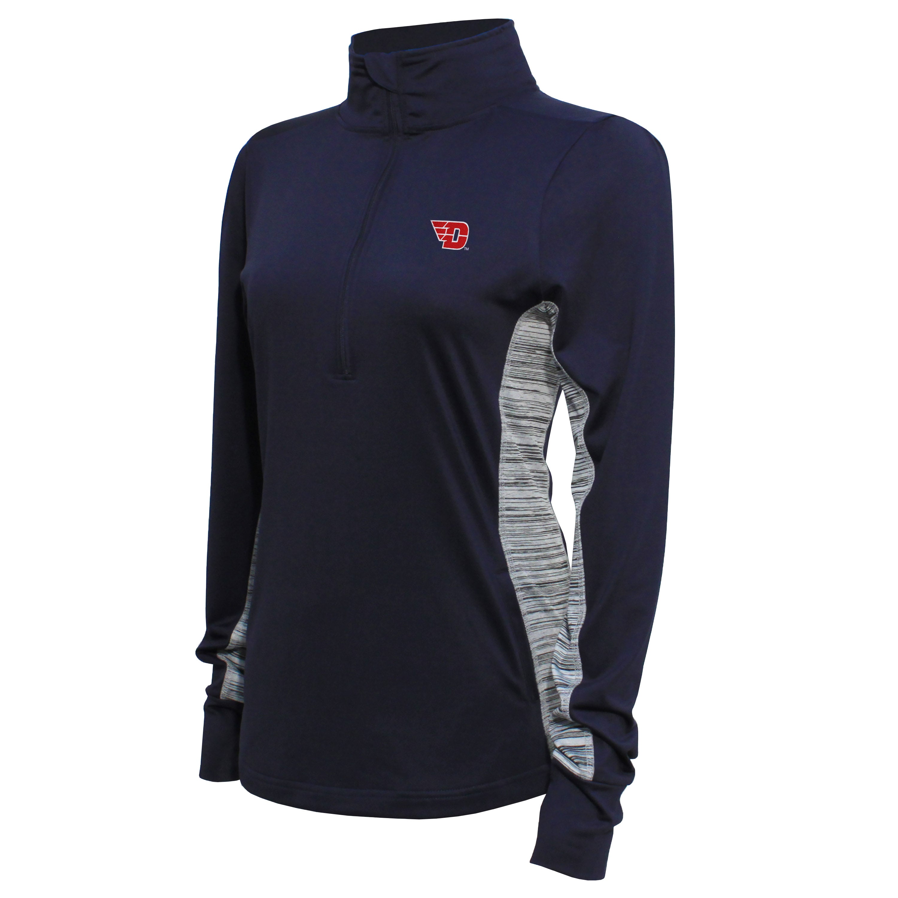 Crable Dayton Women's Navy Half Zip Tech Pullover