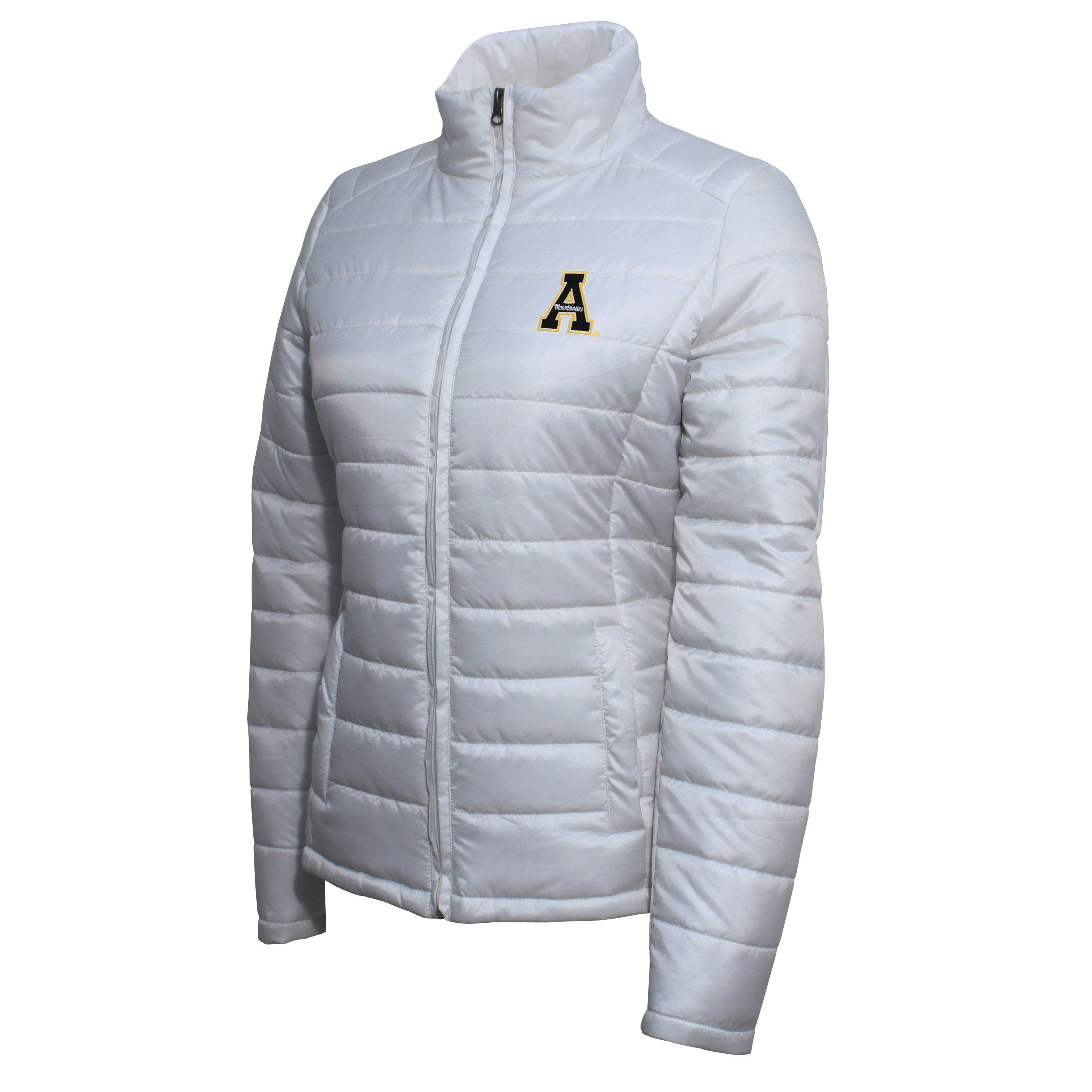 Crable Appalachian State Women's White Puffer Jacket