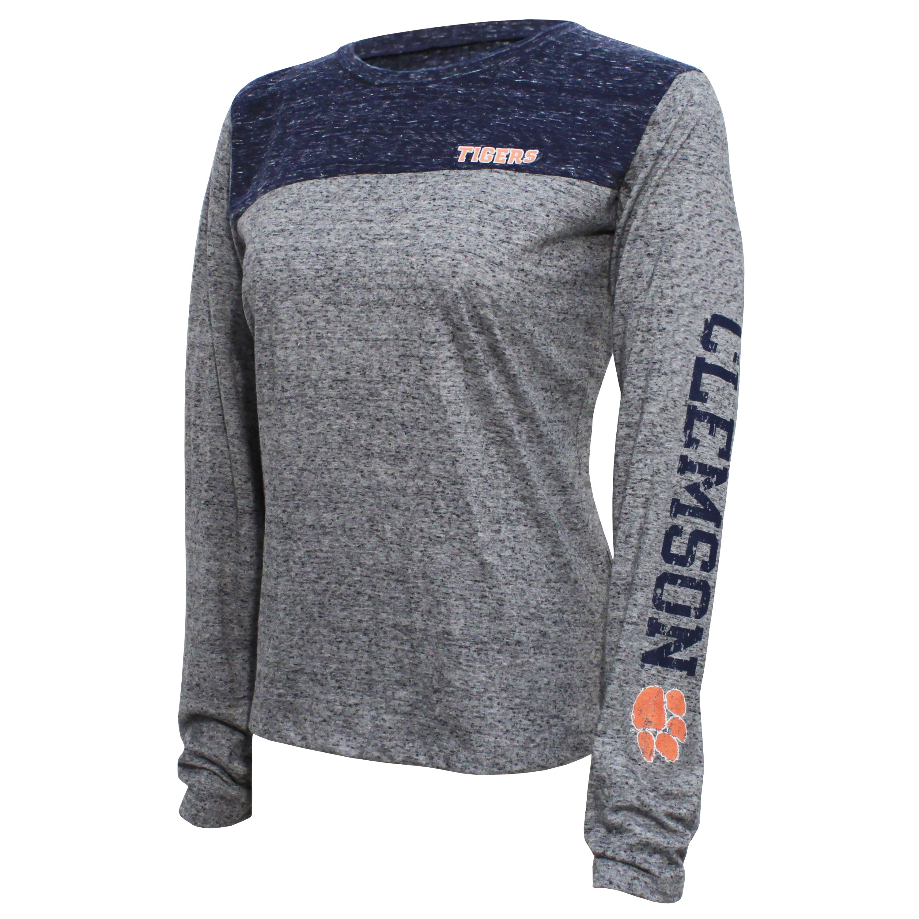 Campus Specialties Clemson Women's Gray Top