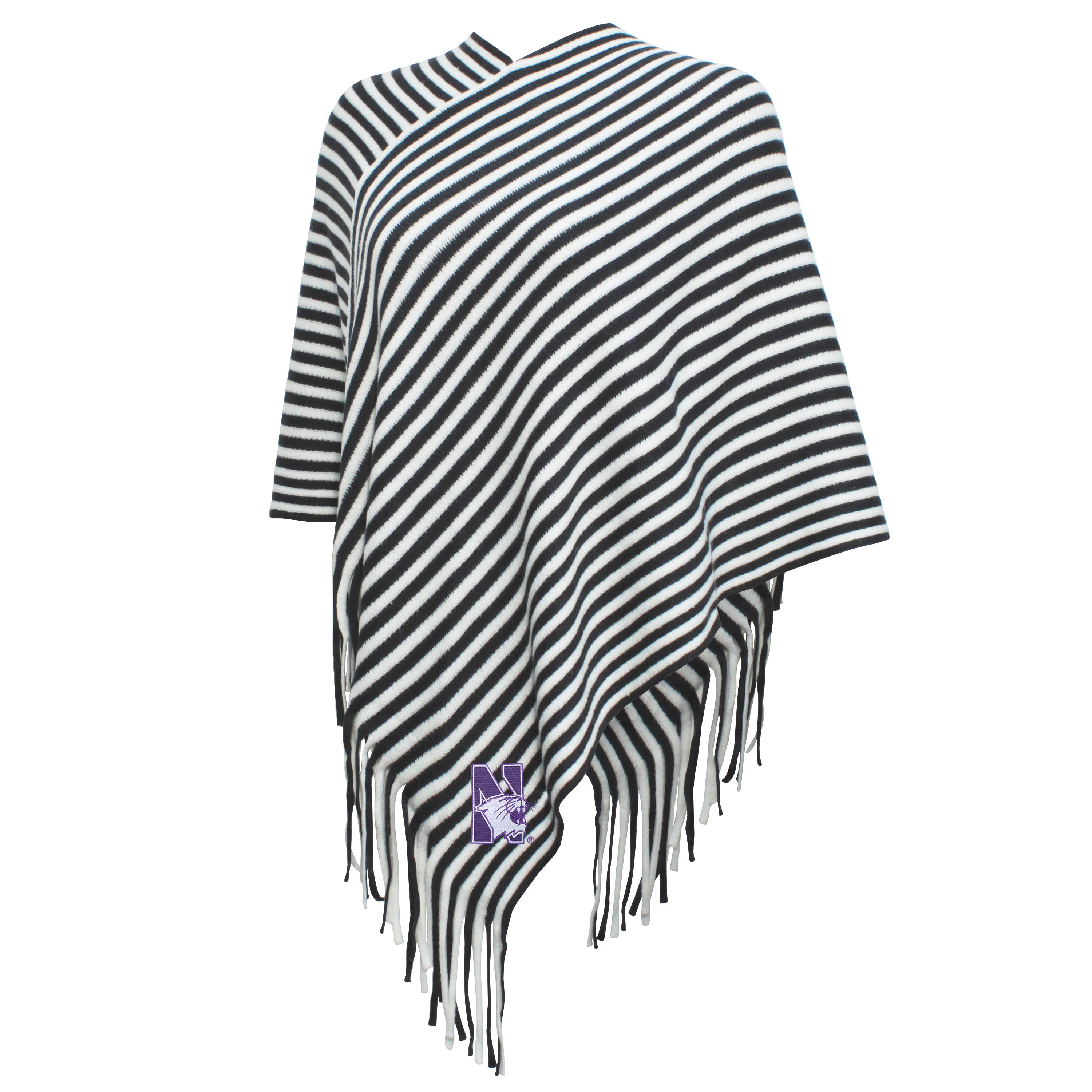 Campus Specialties Northwestern Women's Carbon Poncho