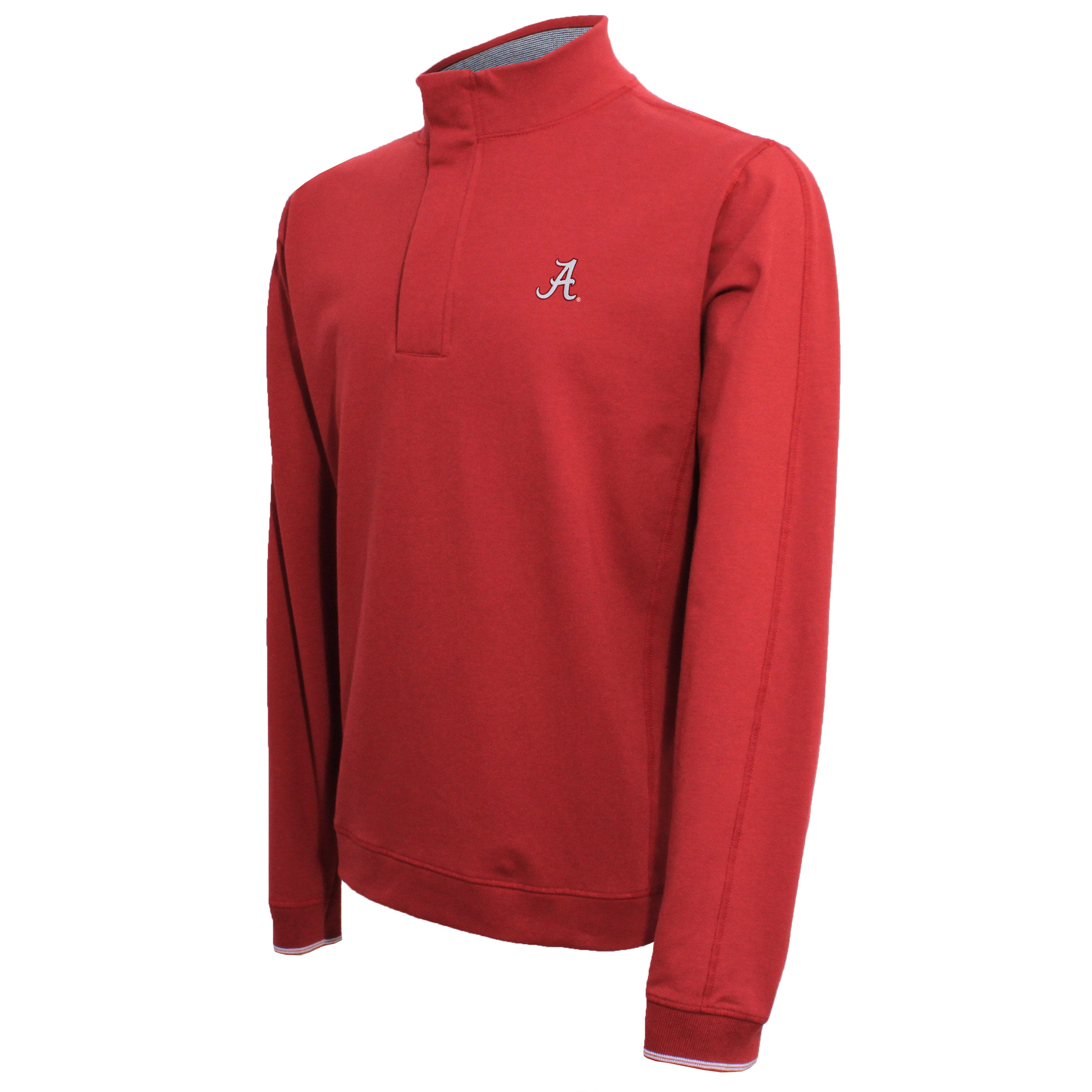 Vesi Alabama Men's Cardinal Quarter Zip Pullover