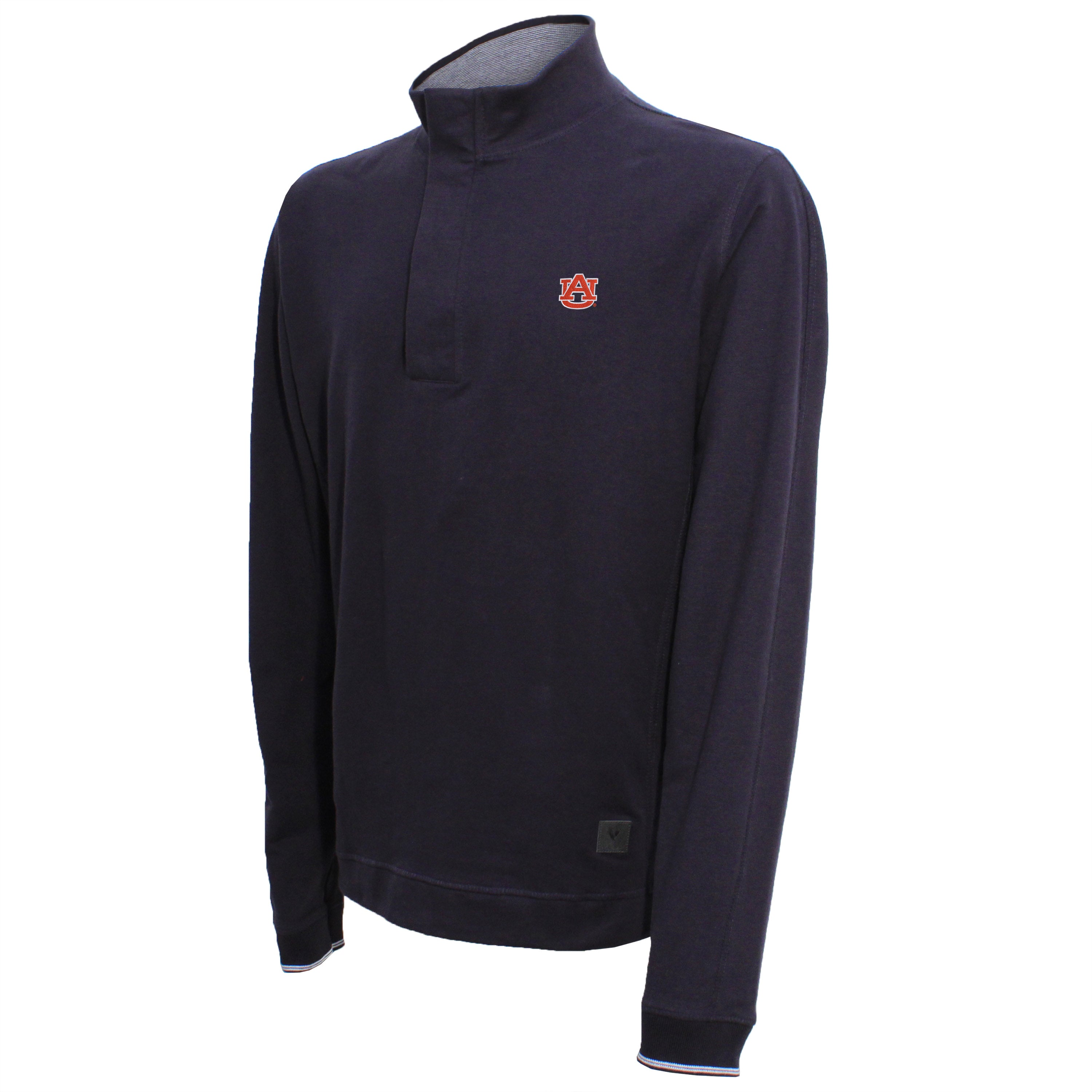 Vesi Auburn Men's Navy Quarter Zip Pullover