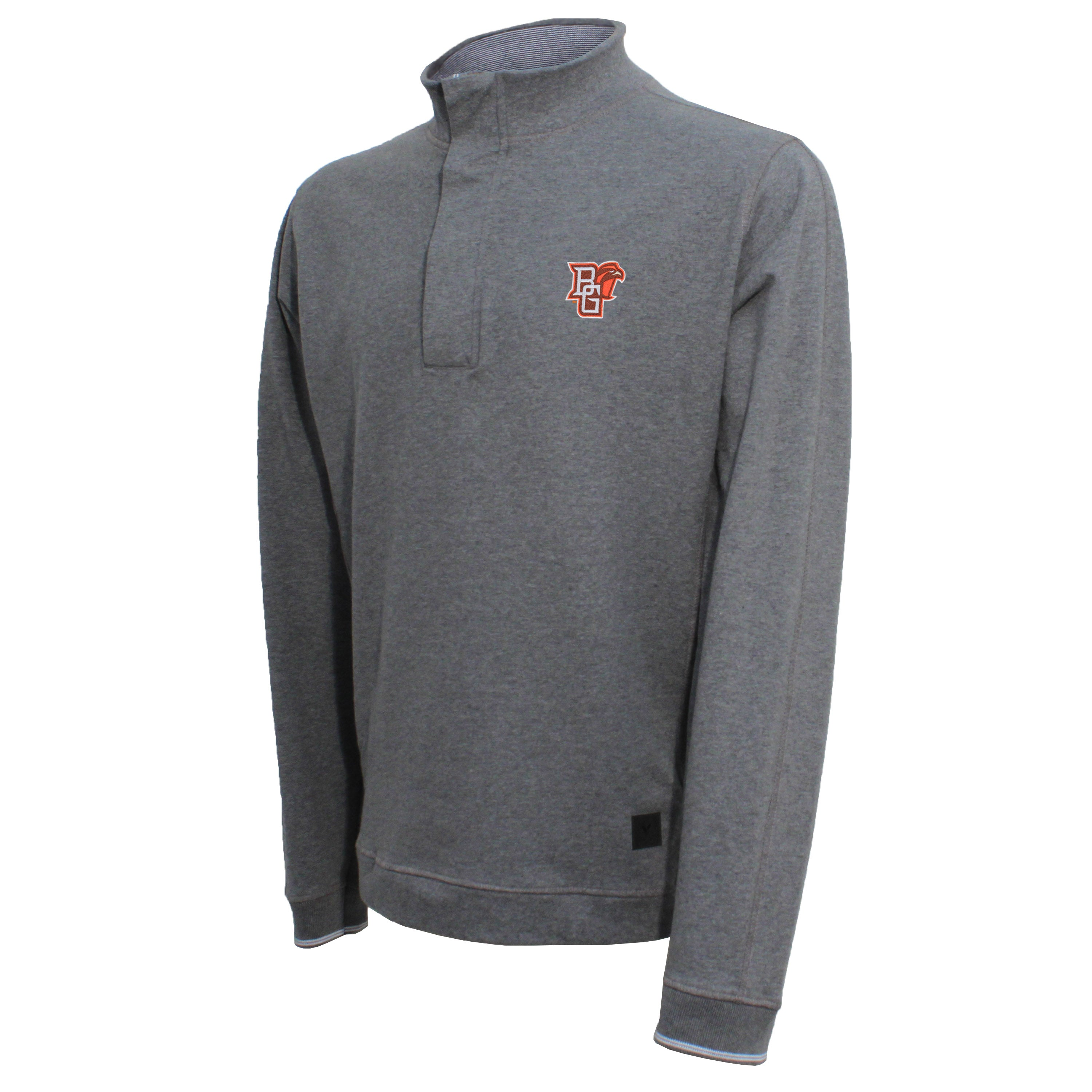 Vesi Bowling Green Men's Gray Quarter Zip Pullover