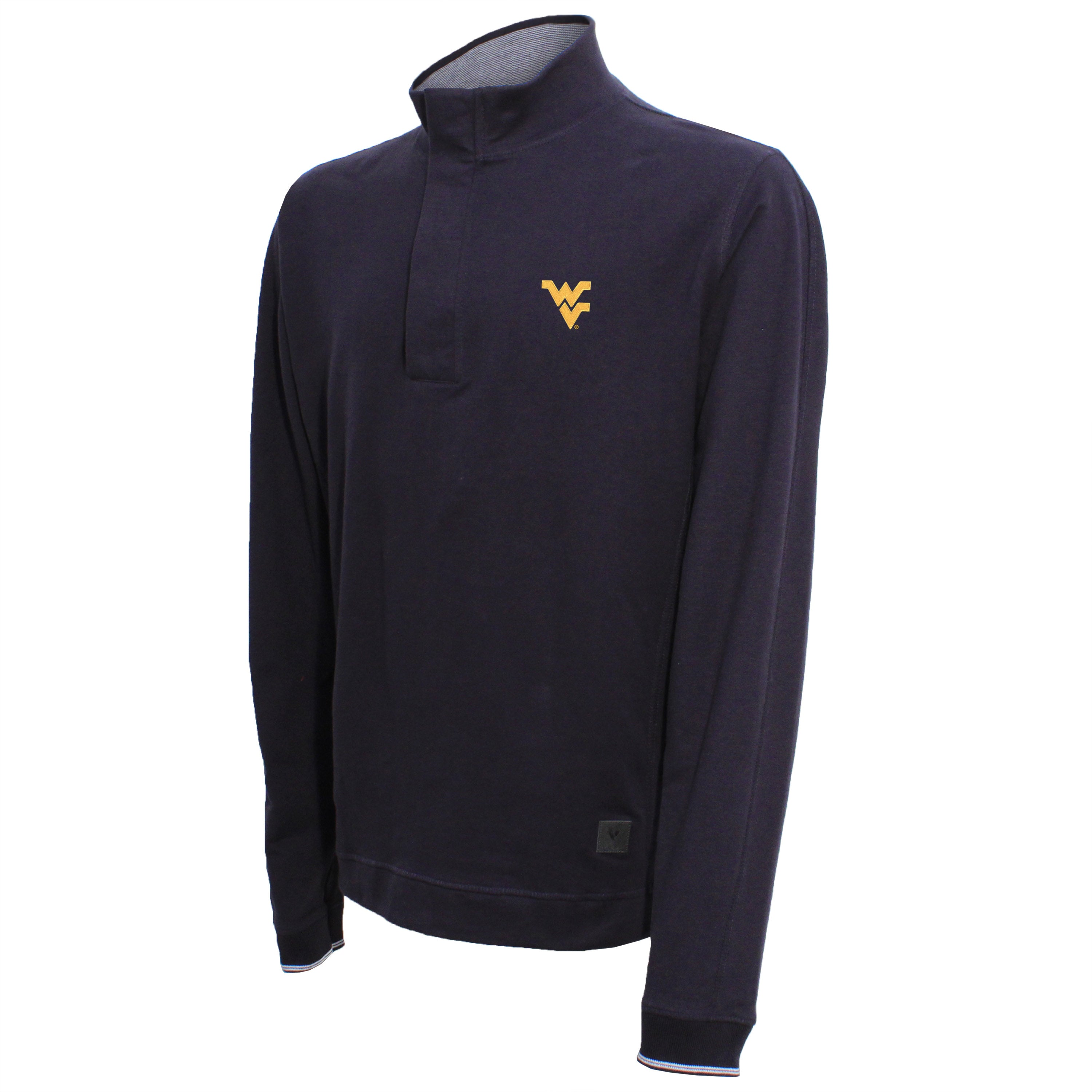 Vesi West Virginia Men's Navy Quarter Zip Pullover