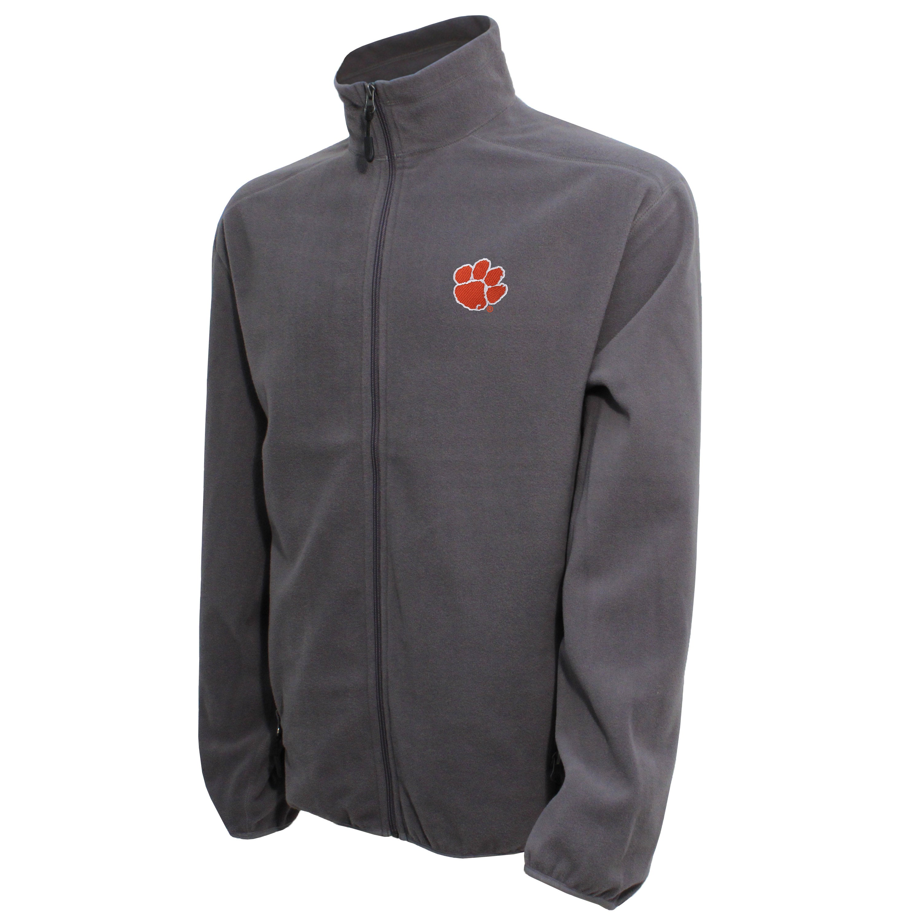 Vesi Clemson Men's Graphite Full Zip Jacket