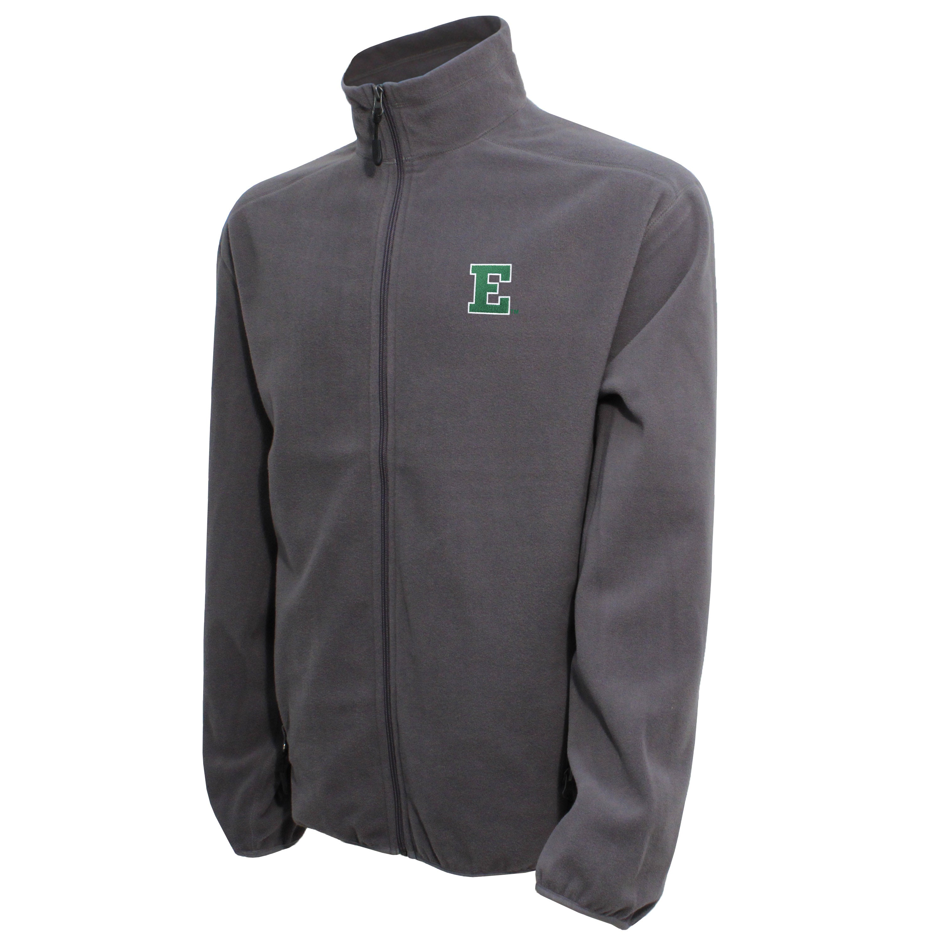 Vesi Eastern Michigan Men's Graphite Full Zip Jacket