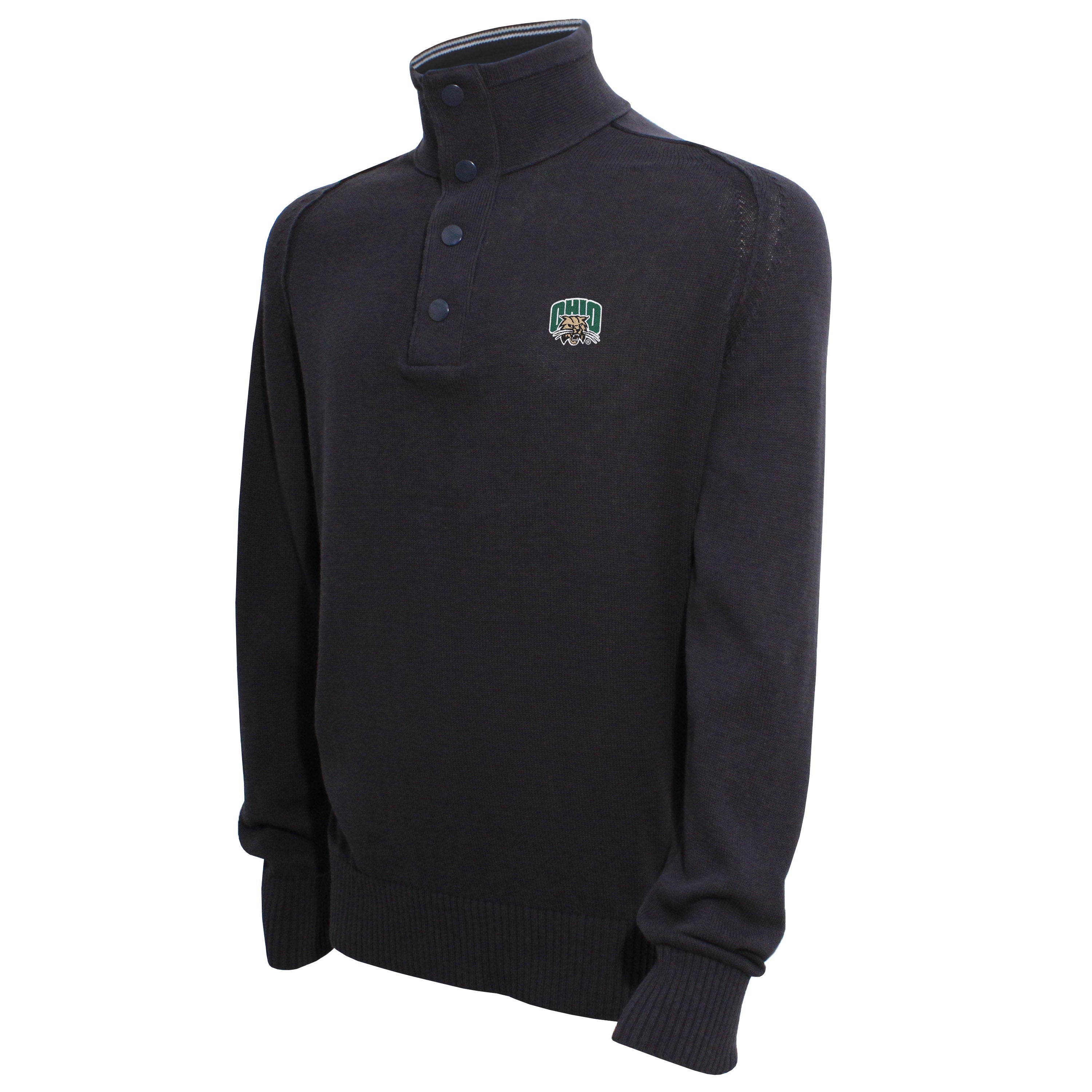 Vesi Ohio Men's Carbon Quarter Zip Sweater