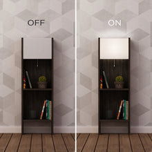 bling_bookcase_with_lighting_Dark Brown_White_musthouse