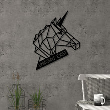Unicorn Metal Decorative Wall Accessory
