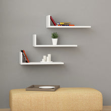 L-Model - White Wall Shelf