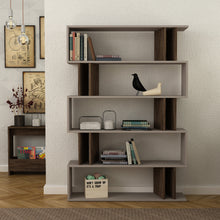 partiro_bookcase_Light Moca_Dark Brown_musthouse