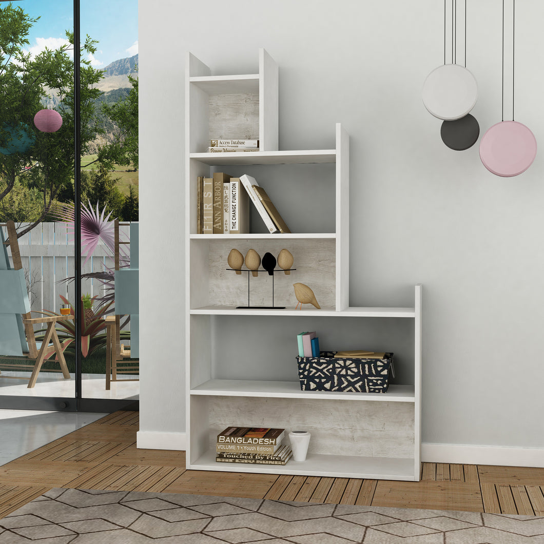 tower_bookcase_White_Antik White_musthouse