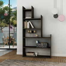 tower_bookcase_Dark Brown_Antik White_musthouse