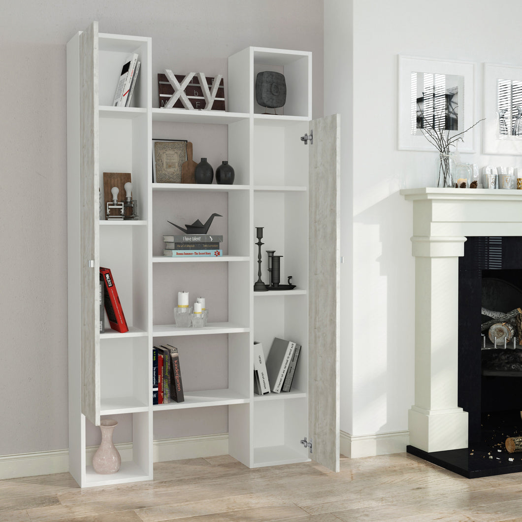 twins_bookcase_White_Antik White_musthouse