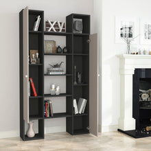 twins_bookcase_Anthracite_Light Moca_musthouse
