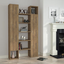 twins_bookcase_Dark Oak_Dark Oak_musthouse