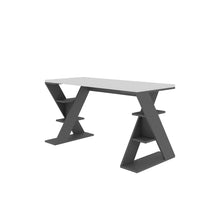 Papillon - White, Anthracite Study Desk