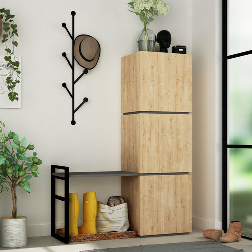 Mello - Oak Shoe Cabinet