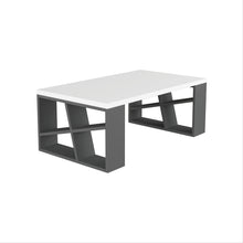 Honey - White, Anthracite Coffee Table