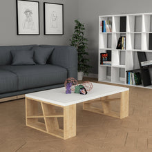 Honey - White, Oak Coffee Table