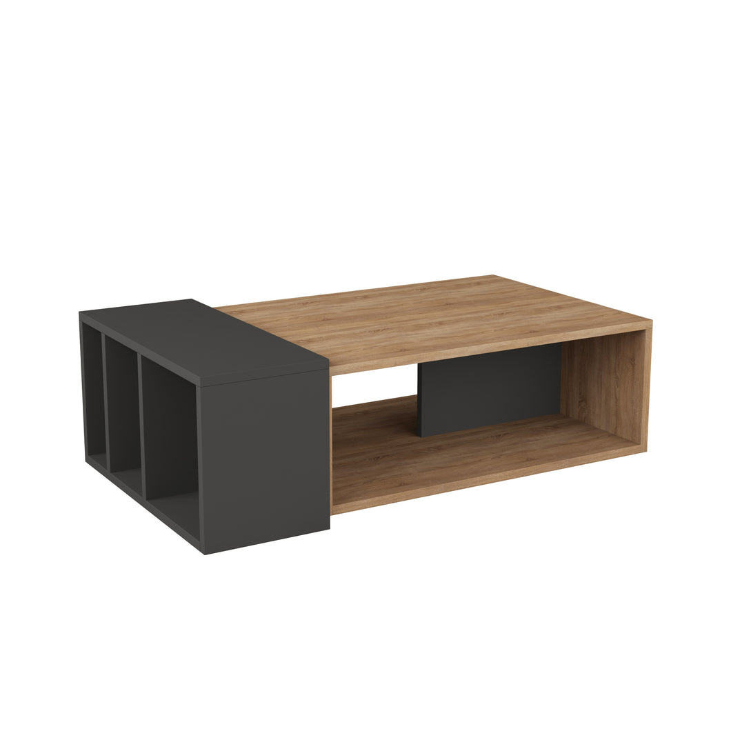 Anita - Oak, Anthracite Coffee Table